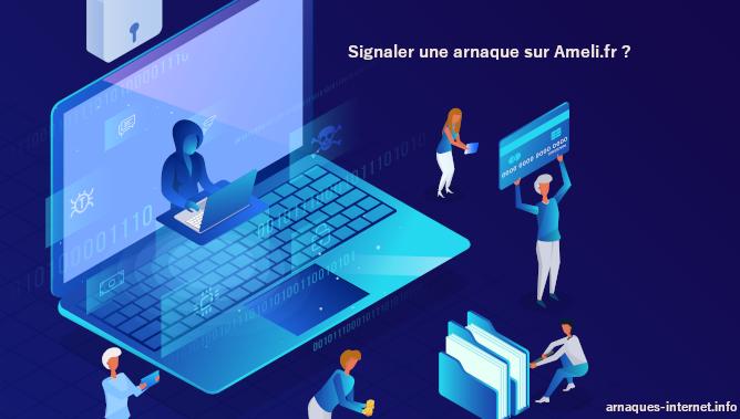 Arnaque sur le site Ameli.fr
