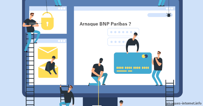 Arnaque sur BNP Paribas