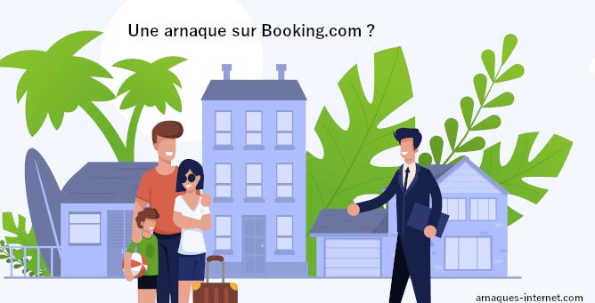 Arnaque sur Booking.com