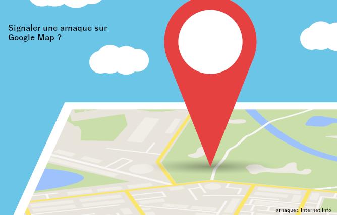 Arnaque sur Google Map