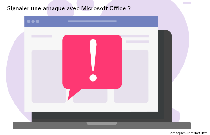 Arnaque avec Microsoft Office