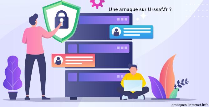 Arnaque sur Urssaf.fr