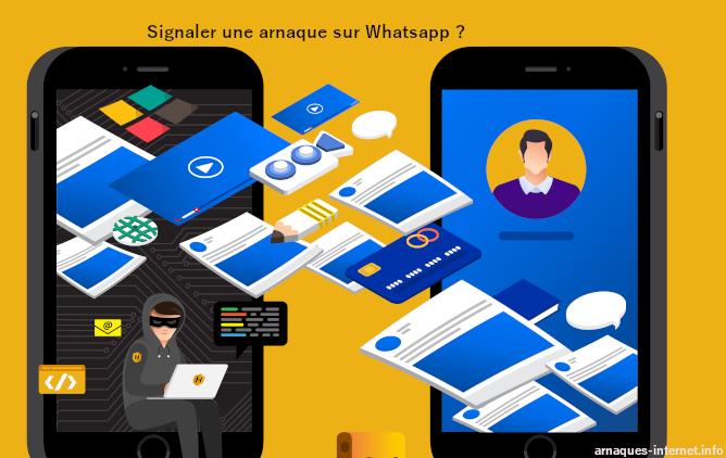 Arnaque Whatsapp