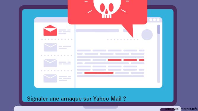 Arnaque sur Yahoo Mail